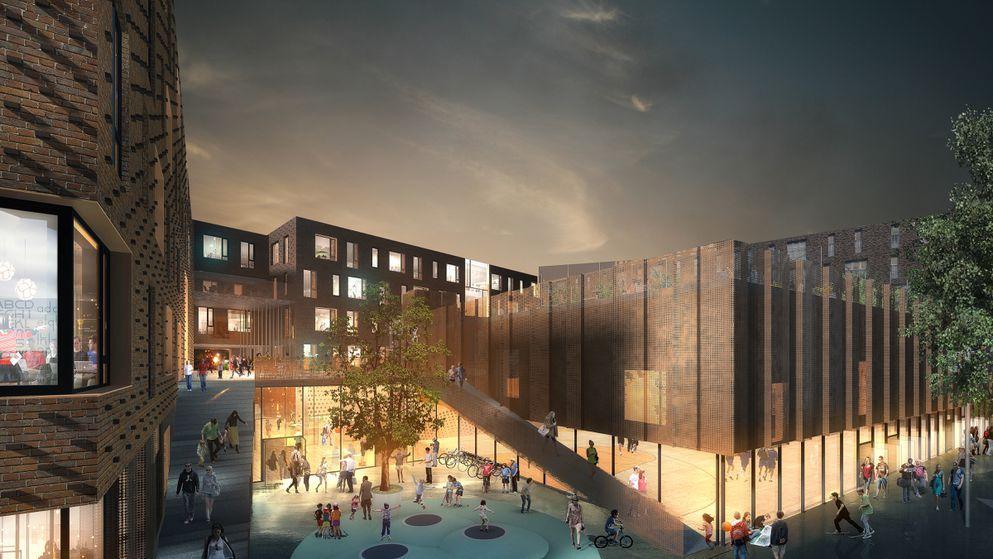 BAM Danmark tildeles byggeriet af Europaskolen i Carlsberg Byen