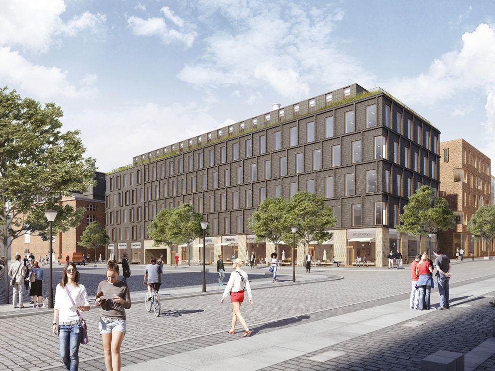 BAM Danmark, Vilhelm Lauritzen Arkitekter, NORD Architects og EKJ skal designe og opføre 'Harild Hus' i Carlsberg Byen