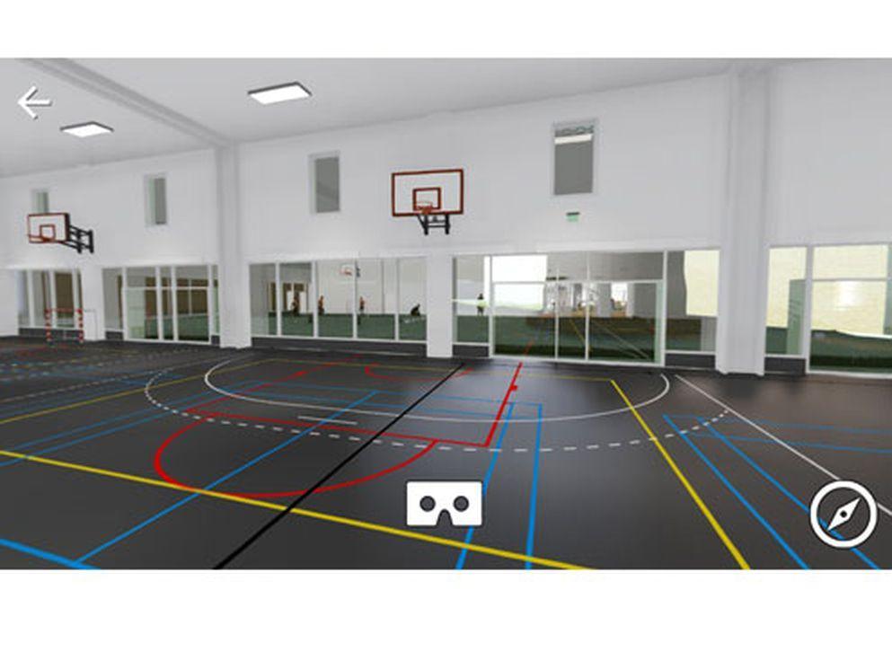 Via BAM's VR-app eller gennem visualisering kan du nu gå på opdagelse i Carlsberg Byens kommende skole Europaskolen.